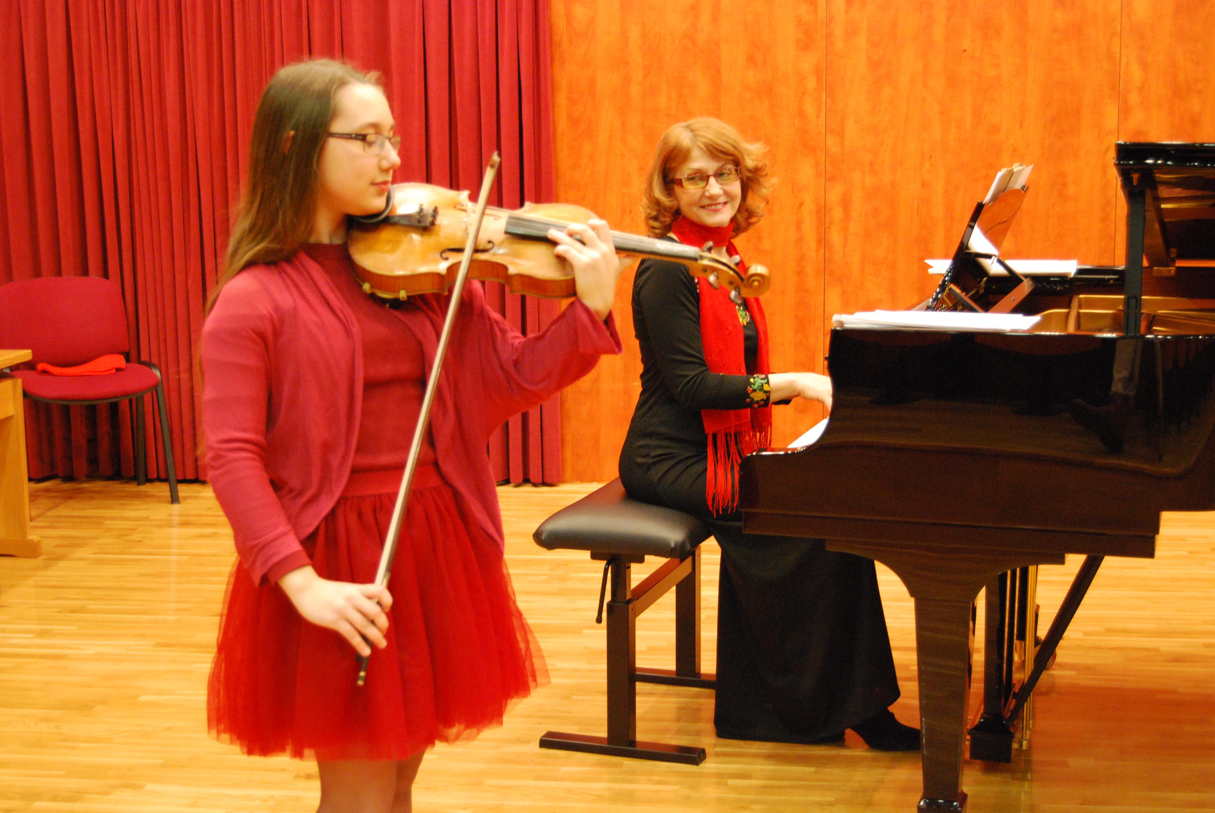 Recital violinistke Veronike Mone Bogić | Glasbena šola ...